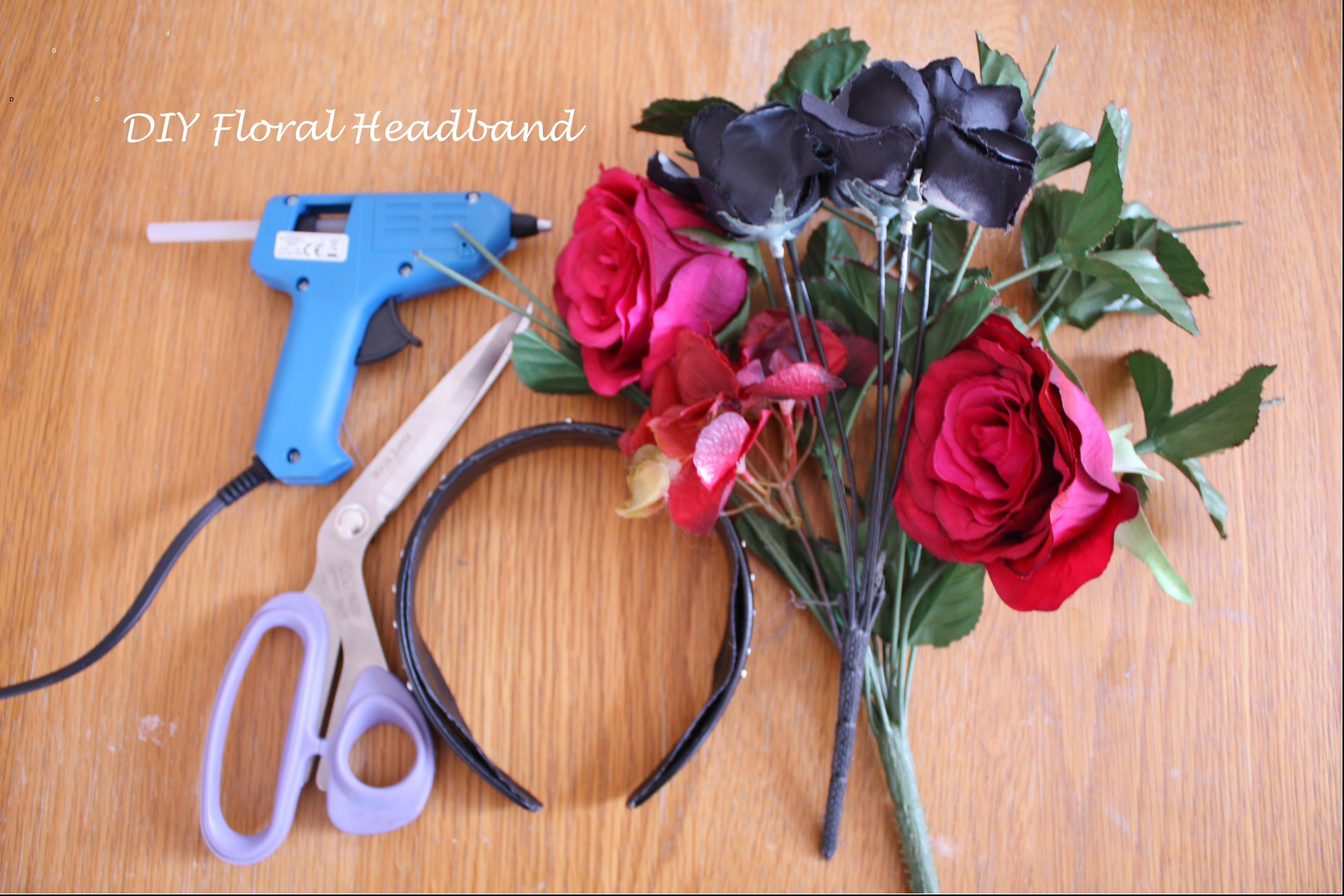 Diy Floral Headband Thisischichi