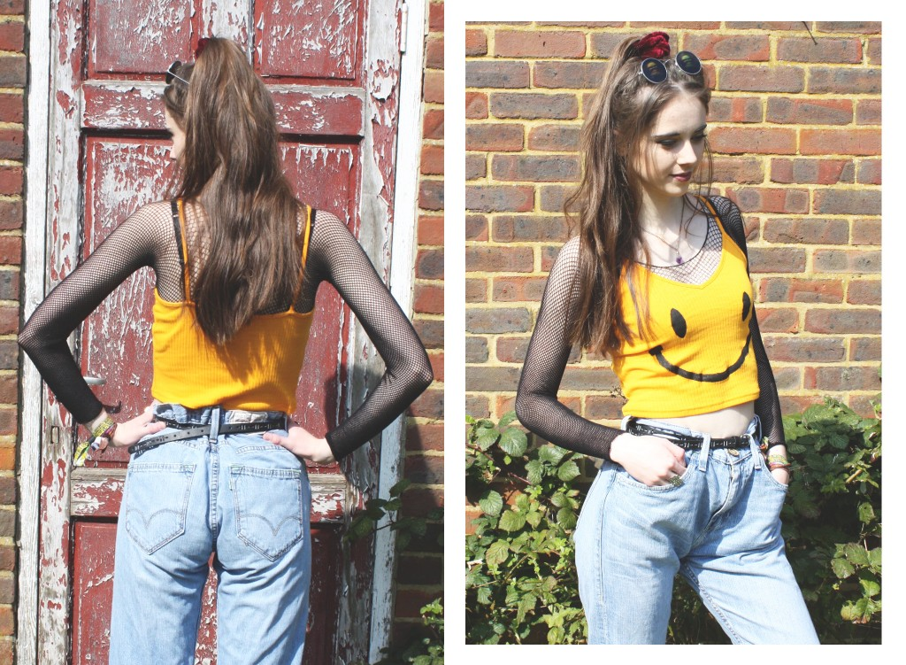DIY 90s rave outfit 2